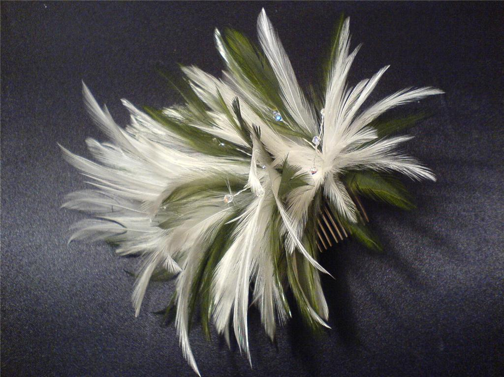 Laura Cutler Skye Feather Fascinator