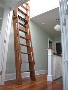 Ship S Ladder For Loft Library Attic Custom Built
