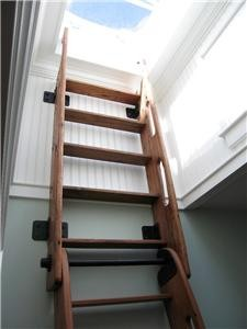 Ship S Ladder For Loft Library Attic Custom Built
