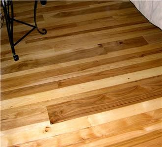 Carolina Hickory Old Growth Hardwood Flooring Solid Wood 3