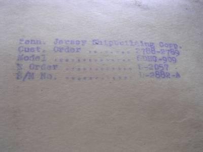 1941 buda gasoline diesel engines repair parts price for Harvey windows price list