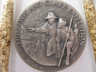 1 Oz Longines Sterling Silver Lewis And Clark 3d High