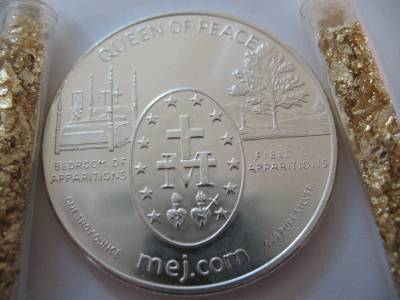 1 Oz 999 Pure Silver Coin Medjugorje Apparitions Of Mary