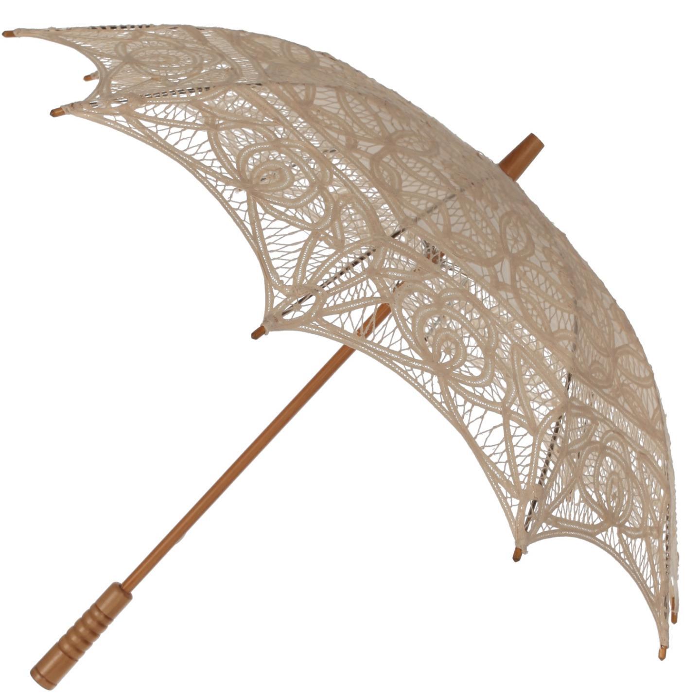 wedding parasol 8 colours vintage victorian design cotton. Black Bedroom Furniture Sets. Home Design Ideas