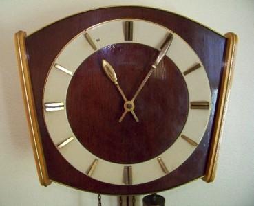 German deco pendulum wall clock ams ebay for German pendulum wall clocks