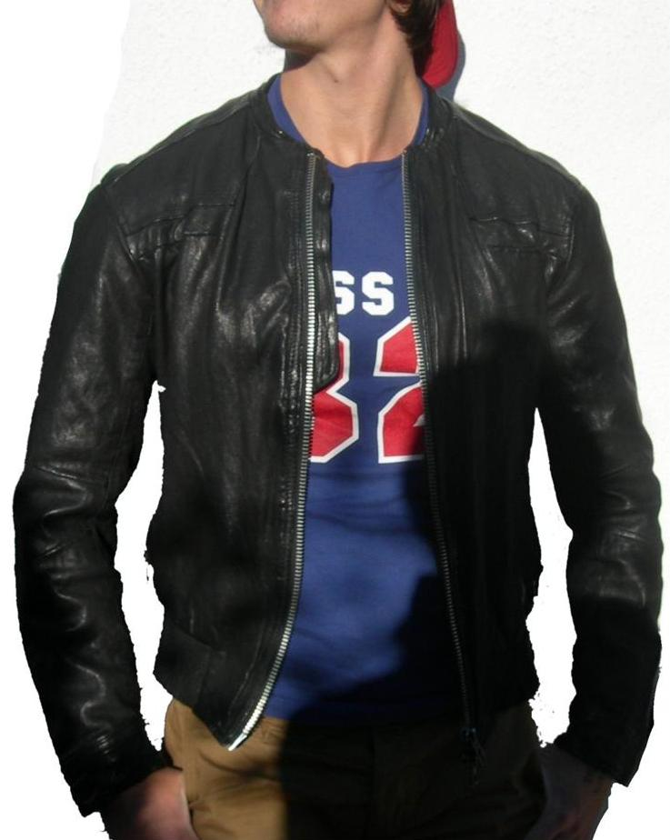 Collide Leather Jacket