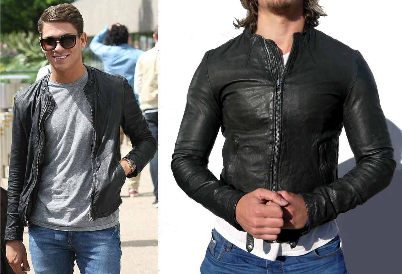 Leather jacket yahoo answers - All Saints Material Leather