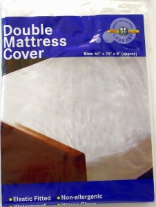 Plastic Mattress Cover For Bed Wetting ... Mattress Protector Cover Fitted Plastic Sheet Bed Wetting Wet | eBay
