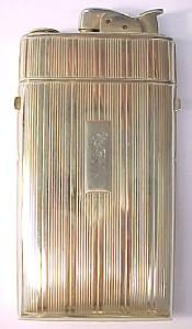Evans ~ Vintage Cigarette Lighter / Case Combo