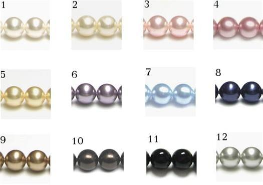Pearl Colours Chart