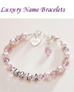 Luxury Name Bracelets