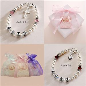 Pierre de naissance bracelet avec nom fille enfant bijoux for Miroir eclat silver
