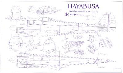 Royal marutaka hayabusa oscar plans patterns for Oscar plans