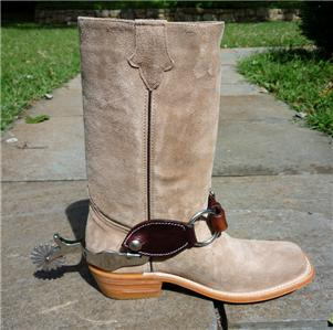 clint eastwood boots with spurs cowboy spaghetti western
