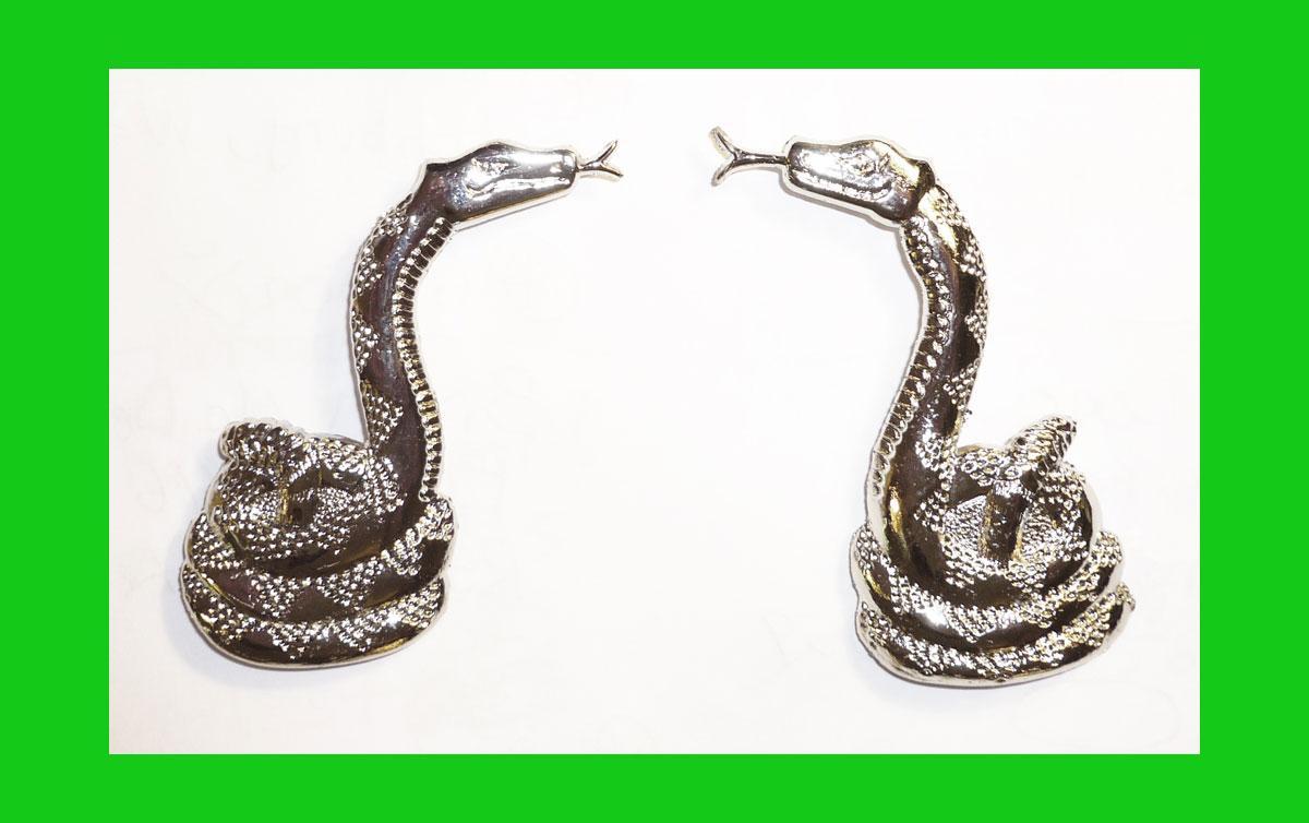 CLINT-EASTWOOD-movie-prop-Western-Snake-Gun-Grip-Inlays-All-Metal-Rattlesnakes