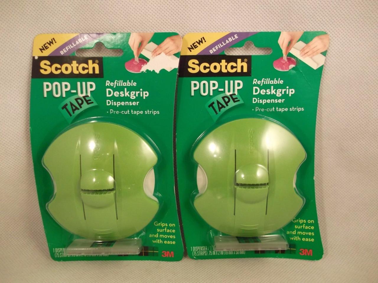 scotch pop up tape dispenser instructions