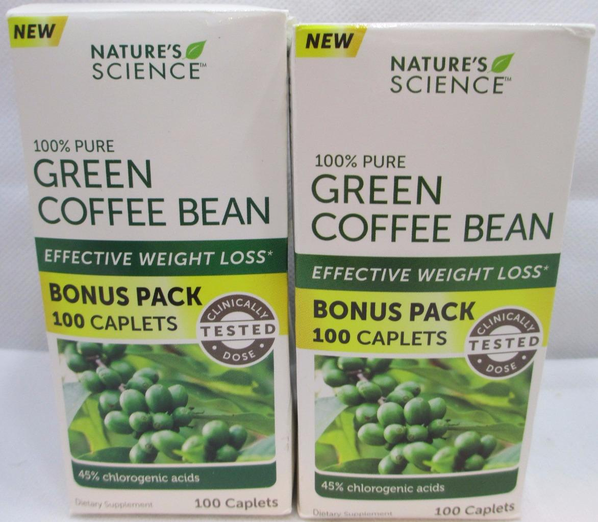 Pure Health Green Coffee Bean By Nature S Science