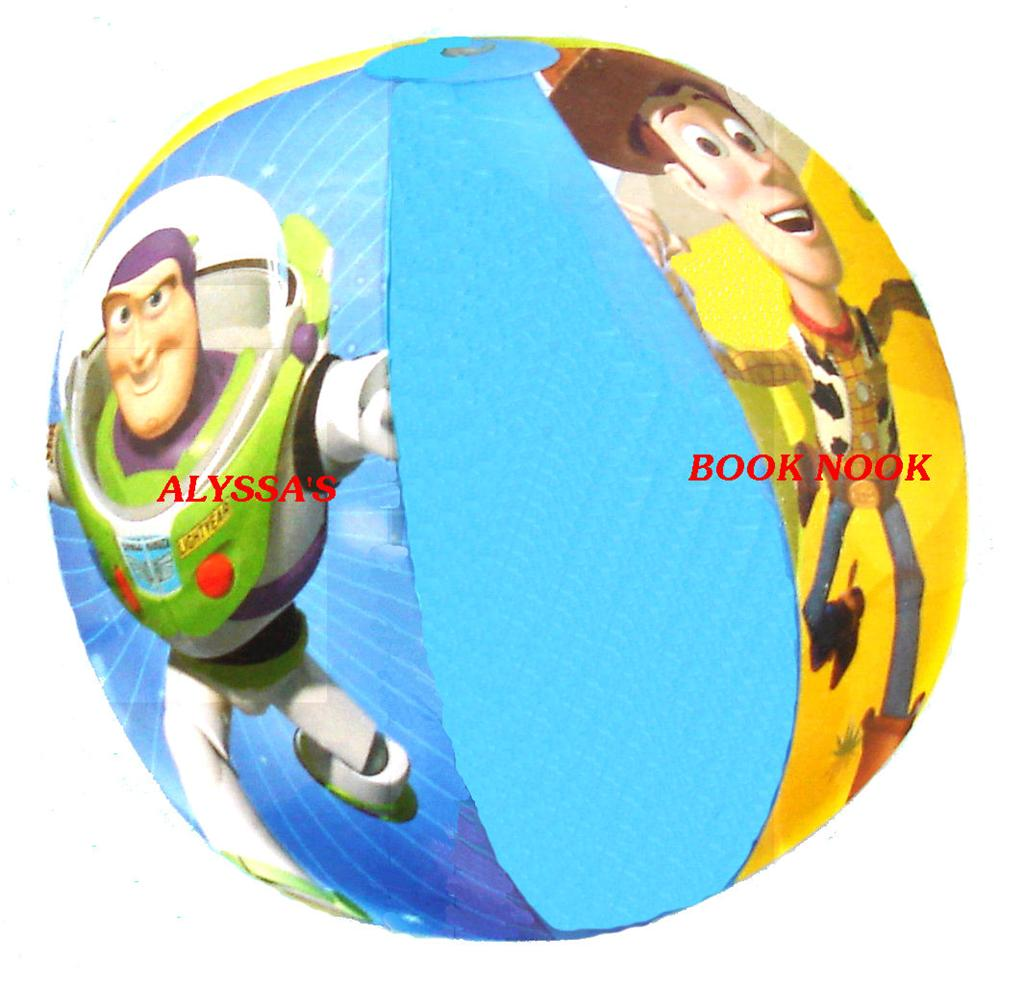 Toy Story Ball : Disney s toy story woody buzz inflatable beach ball ebay