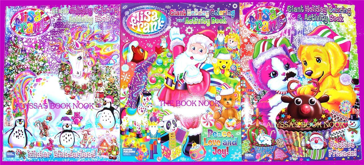 Lisa Frank Christmas Coloring Pages Lisa Frank Coloring pa