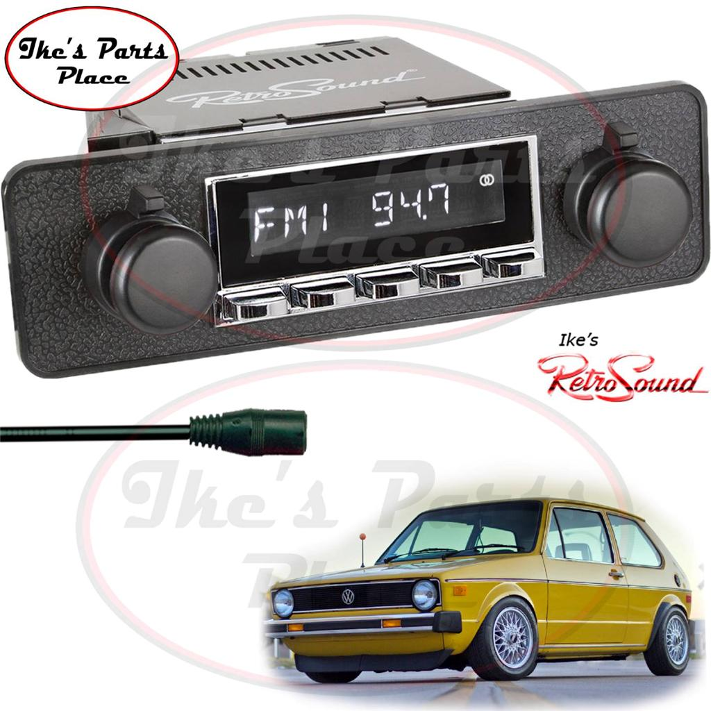 retrosound vw rabbit golf laguna c radio aux in 4. Black Bedroom Furniture Sets. Home Design Ideas