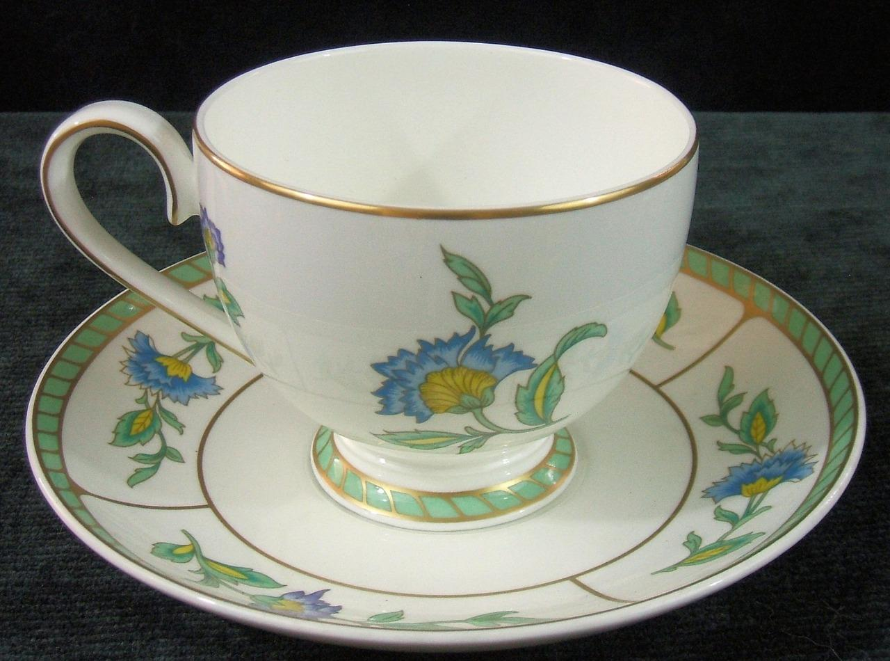 villeroy boch heinrich columbia bone china cup and saucer ebay. Black Bedroom Furniture Sets. Home Design Ideas