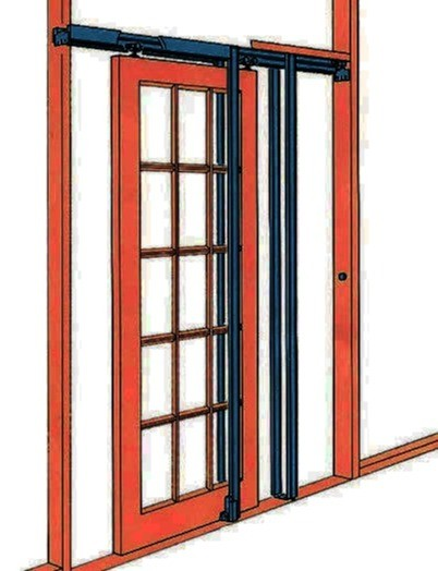 Pocket door frame kit pocket door set 8 foot tall doors ebay for Door frame kit