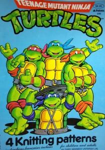 Teenage Mutant Ninja Turtles Knitting Patterns TMNT | eBay