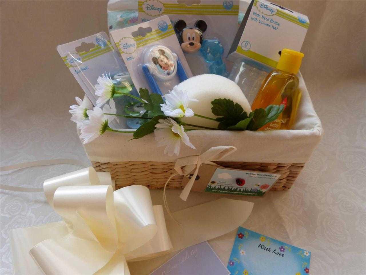 Luxury Baby Gift Hamper : Beautiful luxury disney mickey minnie mouse baby hamper