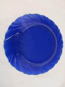duralex bormioli rocco blue cobalt swirl set of 4 salad. Black Bedroom Furniture Sets. Home Design Ideas