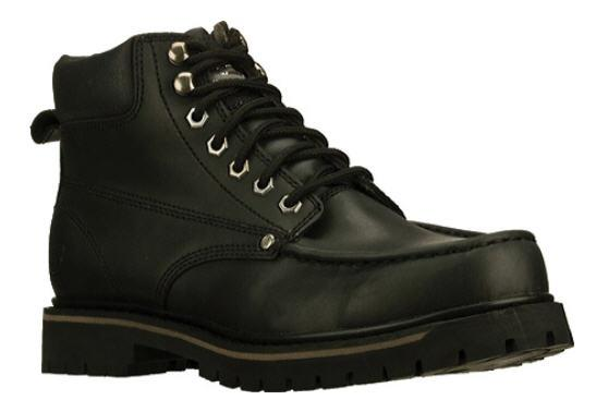 skechers s comfortable rugged leather work boots