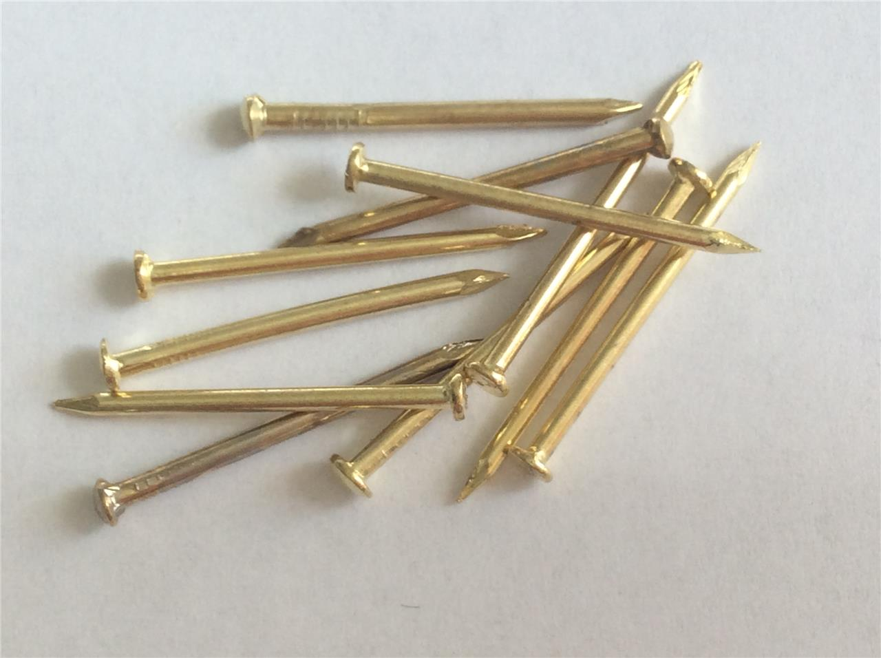 picture hanging nails pins hard hangers brassed hardened