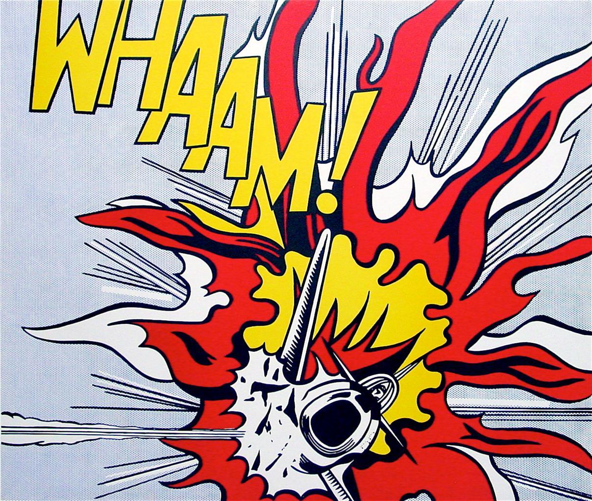 Roy Lichtenstein Whaam 1986 Tate Gallery Edition Print 682 ...