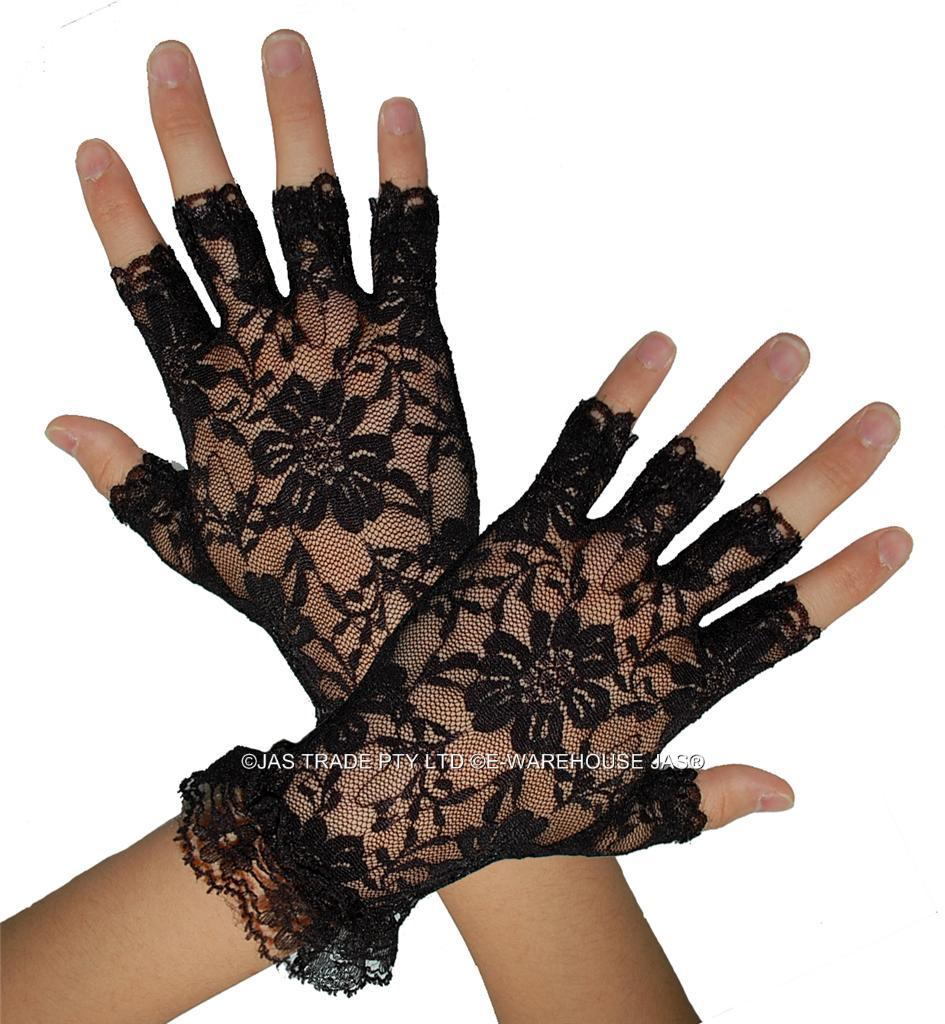 80s Lace Gloves