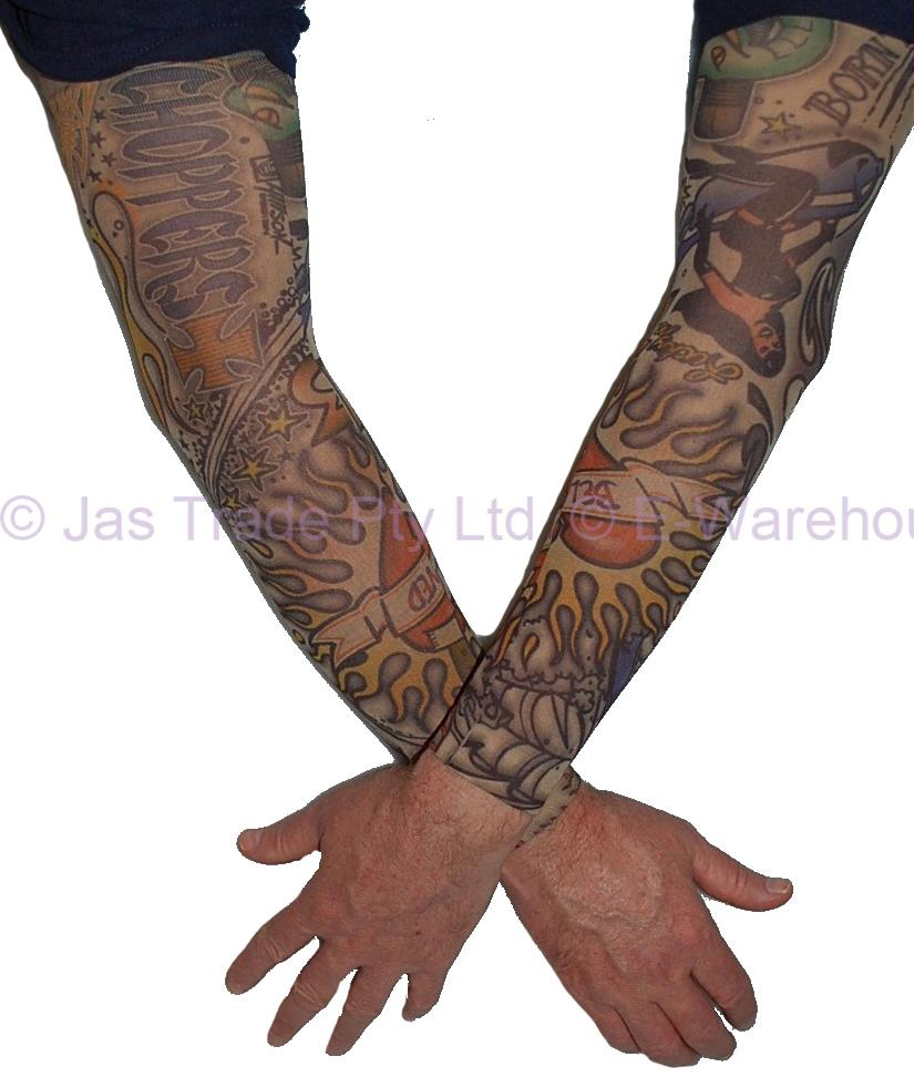 2 fake temporary party sun protection realistic tatoo for Realistic temporary tattoos