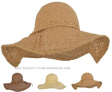 Unisex Men Ladies SUN HAT WOOL Felt Gangster WIDE BRIM FLOPPY