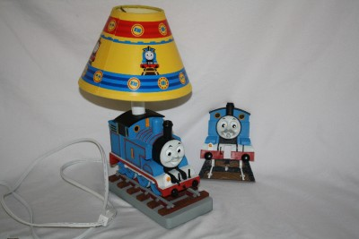 Thomas The Train And Friends Table Lamp Amp Shade W Swit Ebay