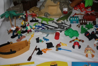imaginext pirate ship instructions