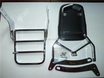 Yamaha Xv Backrest And Sissy Bar Mounting Bolts