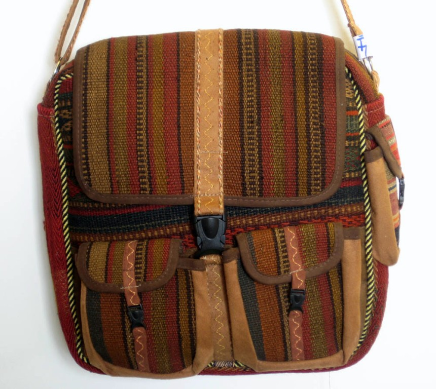 Genuine Kilim Handbag Handmade Persian Rug Tote Purse