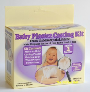baby casting kit instructions