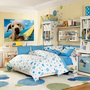 Selling One SURF DOG Wall Mural From Pottery Barn Teen. This Mural Measures  72