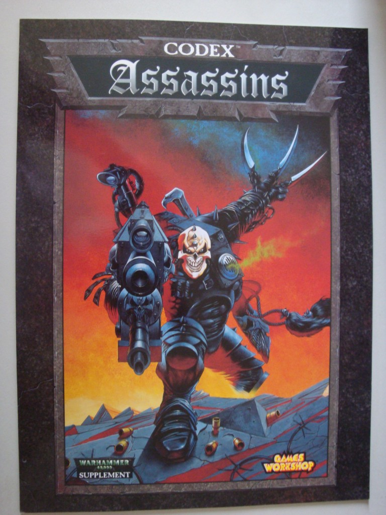 Warhammer-40k-Codex-Assassins-MINT-rulebook-1999-OOP-Games-Workshop
