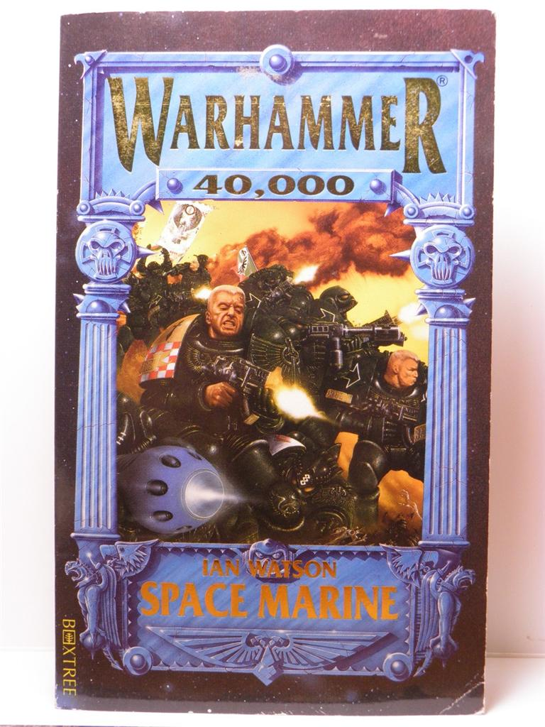 Space-Marine-by-Ian-Watson-Games-Workshop-Nice-Collector-Copy-Scarce-1st-Edition