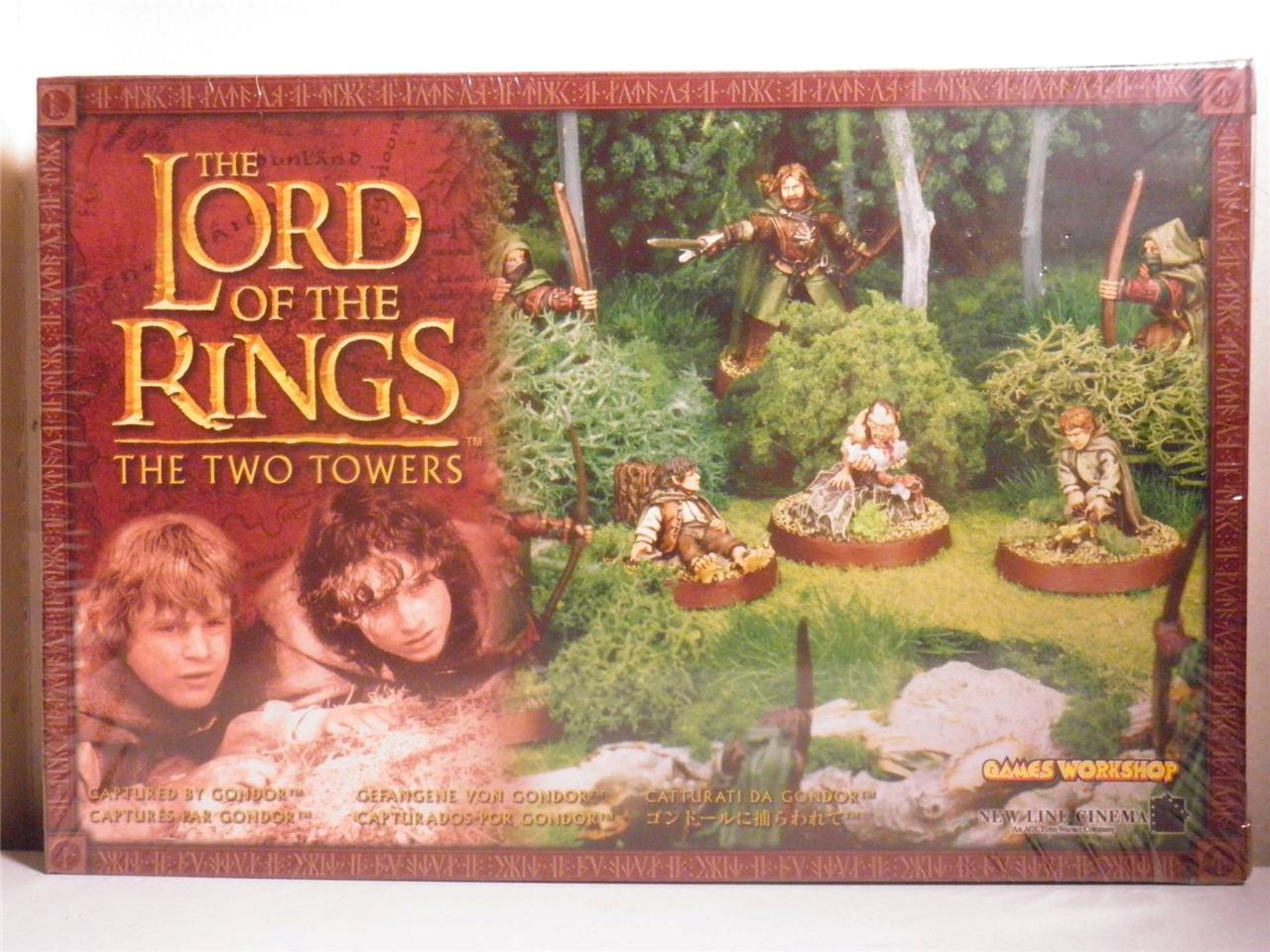 Captured-by-Gondor-box-set-NEW-Not-Sealed-metal-models-LOTR-The-Hobbit-OOP