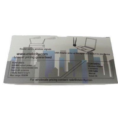 Details about Etekcity® High Power 802.11 B/N/G 300M USB Wireless