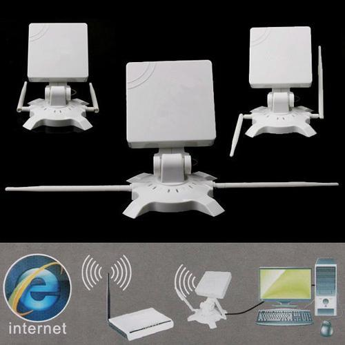 Signal King High Power 48dBi USB Wireless Network Adapter Antenna 150Mbps 150M