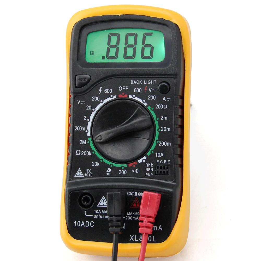 Reading An Ohmmeter : Ohmmeter digital how to read