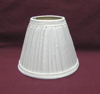 New WHITE Pleated Mini Chandelier Lamp Shade EBay