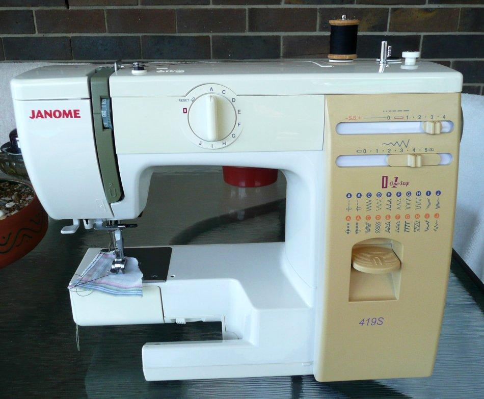 sewing machine one step buttonhole