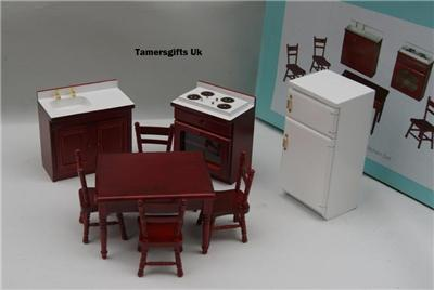 Ebay Bedroom Furniture on Alberon Dolls House Bathroom Bedroom Kitchen Furniture   Ebay